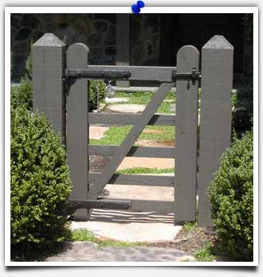 Charming Restoration Harware On Garden Gate