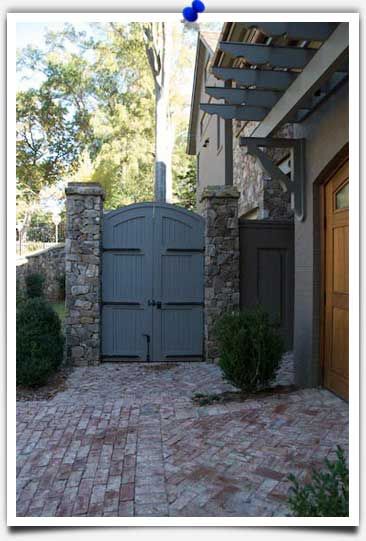 Restoration Hardware for Garden Gates and Wood Doors