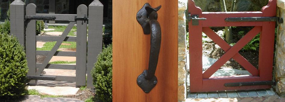 Coastal Bronze Hardware Gate Door Shutter